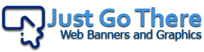 Just Go There Web Banners